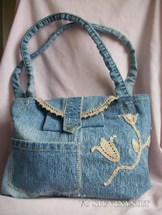 lovely jeans purse