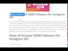 19 Best 5000 Followers For Instagram images in 2018