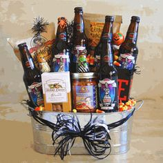Wedding Gift Ideas For Beer Lovers : idea more giftbaskets gift groomsman gifts halloween gifts beer gifts ...