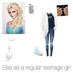 """""""Disney; Elsa"""" by daughter-0f-poseidon ❤ liked on Polyvore featuring art"""