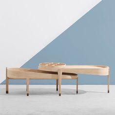 吱音 1/2茶几中式设计橡木榻榻米飘窗矮桌组合搭配茶座客厅家具