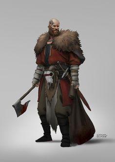 Vikings, Conor Burke on ArtStation at https://www.artstation.com/artwork/zNw24