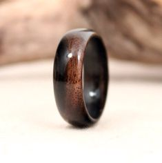 Malaysian Blackwood Ring