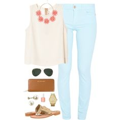 """sorry I've been so busy with school!"" by classically-preppy on Polyvore"
