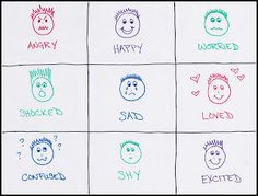 Emotions Tic-Tac-Toe
