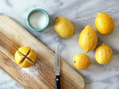 Preserved lemons add a huge punch of citrus and umami flavor that ordinary lemons can't match. Here's how to start incorporating them into your cooking, or make your own preserved lemons at home. Bon Appetit, Lemon Salt, Marinade Sauce, Preserved Lemons, Personal Chef, Middle Eastern Recipes, Roast Recipes, Easy Weeknight Meals, Lemon Chicken
