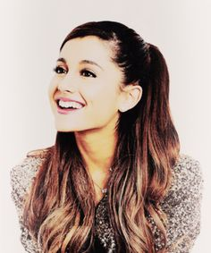 Ariana Grande. Saw her in concert. Such a great singer!!
