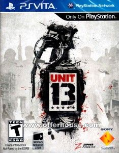Download UNIT 13 Ps Vita Free Full Unit13 introduces players to a robust set of social and competitive features through Wifi and 3G connections that enable them to engage and compete with friends and the wider Unit13 community, wherever they are. ... psvitagamesfull.com