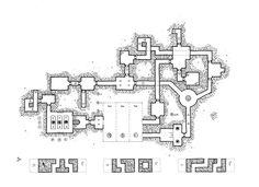 l'antre-de-Nakdehar-Lvl1; Kosmic dungeon; #rpg #map #jdr