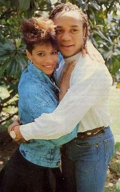 Debbie Allen and Gene Anthony Ray- Italian Magazine Article, via kids from fame Black Celebrities, Celebs, Black Dancers, Phylicia Rashad, Debbie Allen, Marriage Couple, Vintage Black Glamour, Music Film, African American History