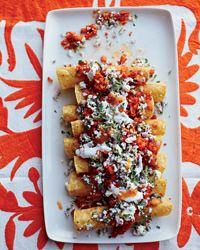 No-Bake Vegetarian Enchiladas Recipe on Food & Wine