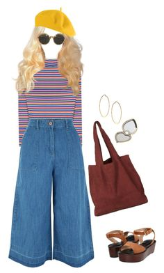 """*sees life through a dreamy 70s filter*"" by hardtoluv on Polyvore featuring New Look, Pour La Victoire, Dorothy Perkins and Aerie"