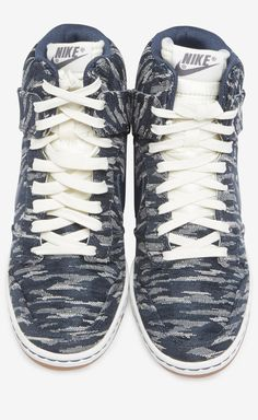 Nike Navy And White Sneaker