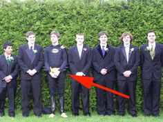 This awesome guy who gave his prom the hero it deserves: | 19 Photos Of People Who Totally Did Prom Better Than You