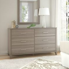 Shop for Somerset 6 Drawer Dresser. Get free shipping at Overstock.com - Your Online Furniture Outlet Store! Get 5% in rewards with Club O! - 22370855