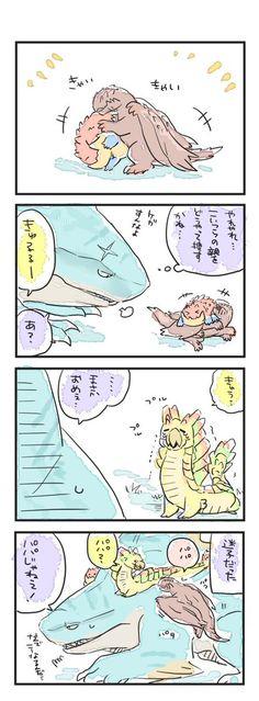 Monster Hunter Memes, Monster Hunter World, Comic Manga, You Monster, How To Train Your, Rwby, Chibi, Fan Art, Chocolate Cookies