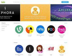 #Comunicación #bots #Internet Kik se adelanta a Facebook y lanza su propia tienda de bots