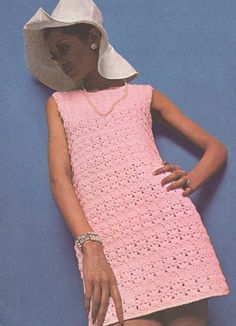 Ladies dress  crochet summer wear  for ladies by EnglishCrochet