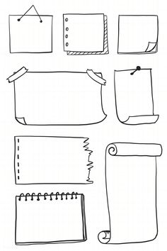 Free tutorials for bullet journal doodles to teach you how to draw a book standing up, an open book, a stack or pile of books, a bookshelf and more. Bullet Journal Inspo, Bullet Journal Boxes, Bullet Journal Headers, Bullet Journal Banner, Bullet Journal Writing, Bullet Journal School, Bullet Journal Aesthetic, Daily Journal, Bullet Journal Vectors