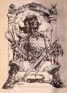 iain McCaig DeathTrap Dungeon