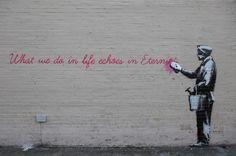 Banksy. NYC.