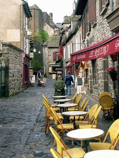 Auvergne, Cantal, Salers