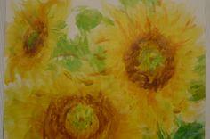 sun flowers - my version