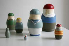 ship's crew russian dolls