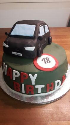 Geburtstagstorte zum 18. Dessert, Home Appliances, Baking Cupcakes, Birthday Cake Toppers, Pies, House Appliances, Desserts, Domestic Appliances, Postres