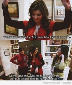 Keeping Up With the Kardashians never fails to make me feel like an intelligent human being.