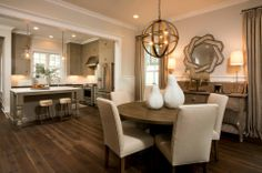 Dining Room, Palmetto Bluff, Bluffton, South Carolina #HomeDecor #InteriorDesign…