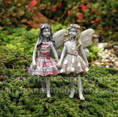 Fairy Homes and Gardens - Garden Fairy - Faith and Hope, $12.59 (http://www.fairyhomesandgardens.com/garden-fairy-faith-and-hope/)