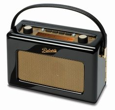 Shop for Roberts Revival Fm/dab/dab+ Digital Radio - Piano Gloss Black. Starting from Choose from the 3 best options & compare live & historic radio prices. Roberts Radio, Radio Vintage, Antique Radio, Retro Radios, Tvs, Televisions, Radio Digital, Dab Radio, Home Tech