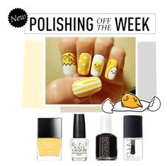 """Polishing Off the Week"" by polyvore-editorial ❤ liked on Polyvore featuring beauty, Butter London, OPI, Essie, NARS Cosmetics, Hello Kitty, nailpolish, polishingofftheweek and newnownails"