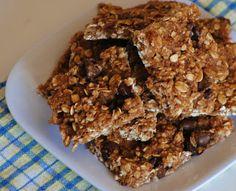 The Farm Girl Recipes: Healthy Banana Oat Bars