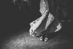 Bespoke Hermione De Paula Wedding Dress With Block Heels By Prada #designer #stylish #wedding #weddingdress #gown #elegant #detailed #shear #lave #beautiful #bride #bridal
