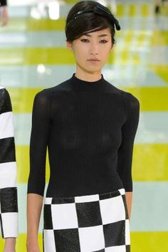 Fitted Turtle Neck Louis Vuitton S/S13