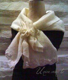 stola in lana cotta