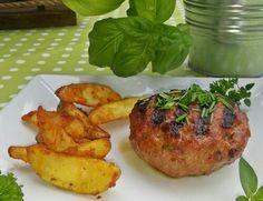 Burger mit Western Potatoes
