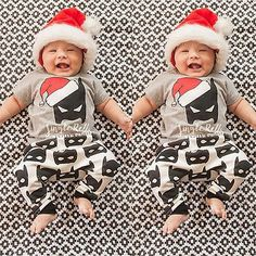 #Newborn baby boy #girls #clothes christmas batman t-shirt tops+pants 2pcs outfit,  View more on the LINK: 	http://www.zeppy.io/product/gb/2/272255931560/