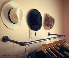 35 Clothing Rack Steampunk Style Decor Garment by FerreroArtDesign