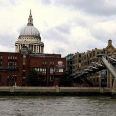 View of St. Paul's from the Thames by bakersjourney