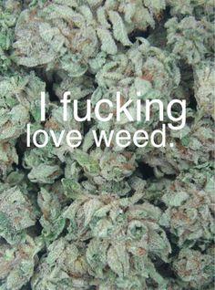 Fucking Love Weed..