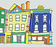 We Make Maps! Hand drawn, custom-made, colourful, quirky maps. We provide high quality images ready to print for business brochures and tourist guides. Each commission is different so whether it& Us Map, Business Brochure, Brochures, High Quality Images, Hand Drawn, Maps, How To Draw Hands, Blue Prints, Catalog