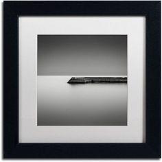 Trademark Fine Art Sunnyside Canvas Art by Dave MacVicar, White Matte, Black Frame, Size: 11 x 11