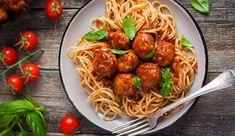 Spaghetti essen à la Susi und Strolch: Diese leckere Pasta mit Hackbällchen schmeckt nicht nur am Valentinstag.