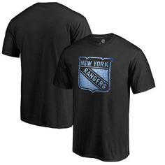 Fanatics Branded New York Rangers Black Big & Tall Pond Hockey T-Shirt
