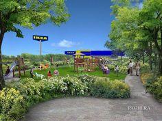 Verde Pubblico e Parchi Divertimento: Ikea - Brescia - Paghera Giardini