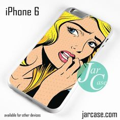 Worries Girl - Z Phone case for iPhone 6 and other iPhone devices