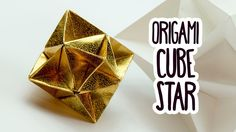 origami cube star #origami #paperkawaii